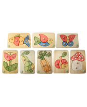 Drei Blatter Knob Puzzle - Set of 8