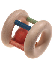 Walter Wooden Baby Toys - Rattle & Ball