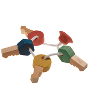 Walter Wooden Baby Toys - Key Chain