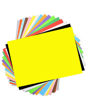 Cover Paper 125gsm Full Easel 510 x 760mm - Assorted Colours 100pk