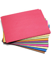 Construction Paper Recycled 100gsm - A4 Assorted 120pk