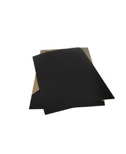 Surface Paper Black Matt 80gsm - 380 x 510mm 250pk
