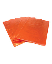 Cellophane 900 x 1000mm 25pk - Orange
