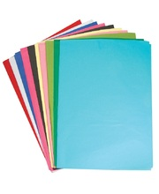 Tissue Paper Assorted Colours 100pk - 500 x 750mm