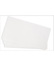 White Cardboard Flash Cards 400gsm - 203 x 102mm 100pk