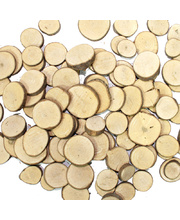 Natural Exploration or Craft Pack - Branch Cuts Circles 330g