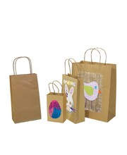 Brown Kraft Paper Bags with Gusset - Medium 50pk