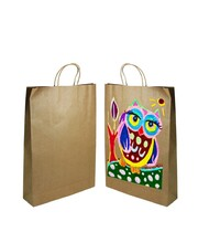 Brown Kraft Paper Bags with Gusset - Extra Large 50pk