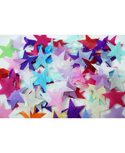 *SPECIAL: Star Shaped Paper Confetti - Multi Coloured 1kg