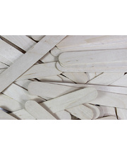 Pop Sticks 1000pk - Natural Wood