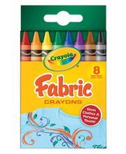 Crayola Fabric Crayons - Regular 8pk