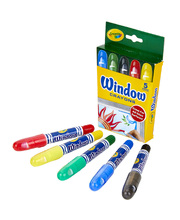 Crayola Washable Window Crayons - 5pk