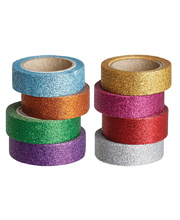 Washi Glitter Tapes - 8pk