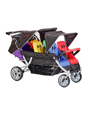 Familidoo 6 Seat Stroller with Auto Brake
