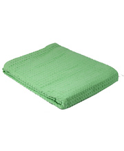 Cotton Thermal Blanket - Mint