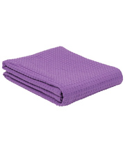 Cotton Thermal Blanket - Purple