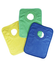 Rainbow Cotton Bibs - 6pk