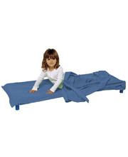 Sleep Bed/Mat Combination Sheet Set (IPNO) - Blue