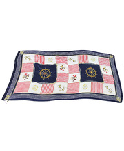 *SPECIAL: Polyester Scarf - Nautical 105 x 180cm
