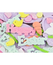 Foam Stickers - Easter Shapes 208pcs