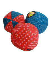 *SPECIAL: Balloon Ball Cover - Red Poppy Dot