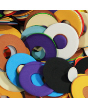 Pre Cut Recycled Paper 100g - Donuts 14 to 34mm