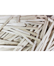 Fairy Floss Wooden Sticks - Natural 500pk
