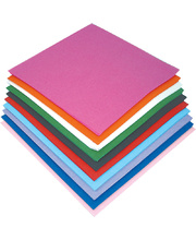 Square Tissue Paper Assorted Colours - Large 250mm 480pk