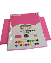 Rainbow Cover Paper 125gsm A3 100pk - Hot Pink