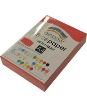 Rainbow Office/Copy Solid Colour Paper - 80gsm A4 Ream Red