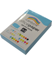 Rainbow Office/Copy Solid Colour Paper - 80gsm A4 Ream Blue