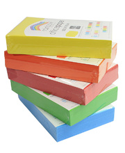 Rainbow Office/Copy Solid Colour Paper - 80gsm A4 Ream Set of 5