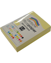 Rainbow Office/Copy Pastel Colour Paper - 80gsm A4 Ream Sand
