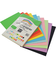 Rainbow Office/Copy Paper A4 500pk - 80gsm A4 Ream Assorted Colours