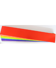 Coloured Cardboard Sentence Strips 290gsm - 640 x 102mm 100pk