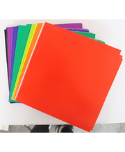 Coloured Cardboard Squares 290gsm - 203 x 203mm 100pk