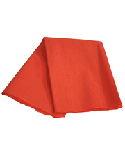 *Crepe Paper 2.5m x 500mm - Orange