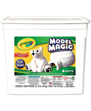 *SPECIAL: Crayola Model Magic White - Bucket 907g