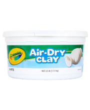 Crayola Air Dry Clay 1.13kg - White