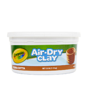 Crayola Air Dry Clay 1.13kg - Terracotta