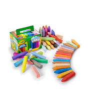 Crayola Sidewalk Chalk - Assorted Colours 48pk