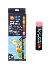 Micador Easy Wash Mega Oil Pastels - 12pk