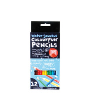 *SPECIAL: Micador Colourfun Water Soluble Pencils - 12pk