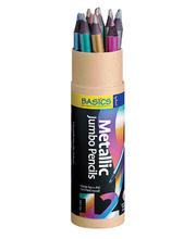 Jumbo Metallic Pencils - 12pk
