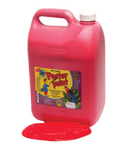 Poster Paint Jumbo 5L - Red