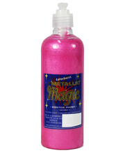 Metallic Lustre Paint 500ml - Pink