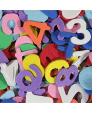 *Foam Shapes - Numbers 160pk