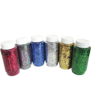 Coarse Glitter 250g - Multi-coloured