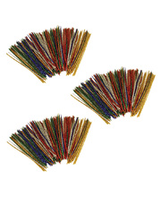 Long Pipe Cleaner Tinsel Assorted Colours - 4pks x 150pk