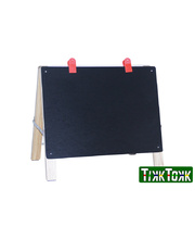 Boss Timber Table Top Easel with White & Chalk Boards